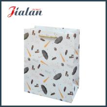 Paquete de compras de mano de mano de M de papel barata de regalo Bolsa de papel