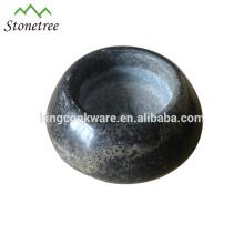Natural Granite Stone Candlestick