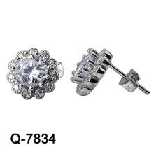 Новые ювелирные изделия серег способа конструкции 925 серебряные (Q-7834. JPG)