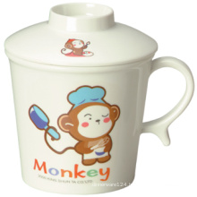 Melamine Kid′s Tableware Childeren Mug with Cover (BG620S)