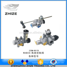 High grade and high quality bus parts height control valve/levelling valve for WABCO