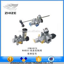 Alto grau e alta qualidade de peças de ônibus de controle de altura da válvula / válvula de nivelamento para WABCO