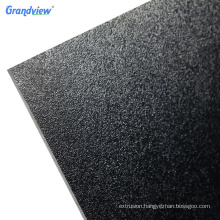 Customized extruded plastic black smooth ABS sheet