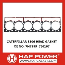 Cat 3306 Head Gasket 7N7999  7E6167