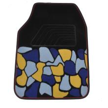 Car Carpet Flat Foot Pad Ribbon Pattern