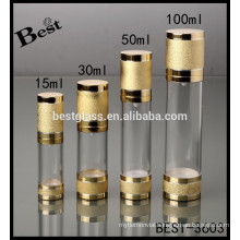 15/30/50/100ml airless cosmetic bottles