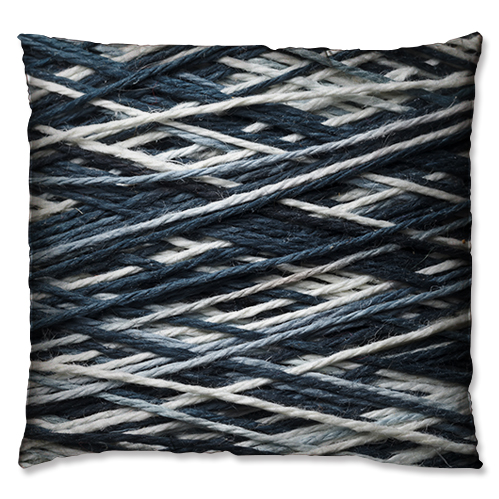 wool coil style cushion