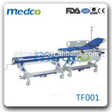High Quality Luxurious Emergency Transportation Cart medical Stretcher Bed For Rescue TF001