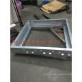 Aluminum Motorized Opposed Blades Damper con motor de control para el sistema HVAC Roll de conductos que forman la fabricación de la máquina Tailandia