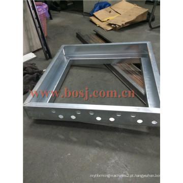 Alta qualidade Fire-Proof amortecedor para HVAC System Duct Roll formando máquina fornecedor Malásia