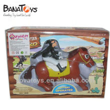 Battery operated zorro horse racing toy with sound 905060639
