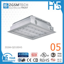 2016 New 100W LED Light Canopy with Super Bright 150lm/W LED