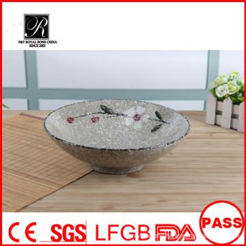 8.5inch japanese style bowl noodle bowl 2015 P&T ceramics round bowl