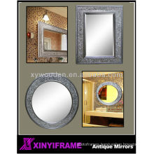 Wooden Designed Decorative Wall Mosaic Frame Mirror