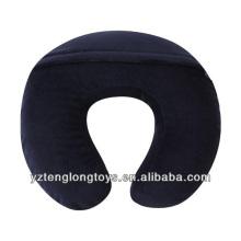Personalizadas en forma de u almohada almohada de espuma de memoria de viaje de cuello
