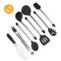chinese supplier Yangjiang Classic 12-Piece silicone kitchen Tool and Gadget Set with kitchen holder