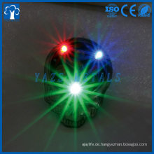 Revers Stift Fabrik China benutzerdefinierte weichen Emaille Licht LED blinkt Revers Pin