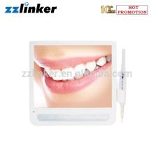 Wired USB VGA Tipo Dental Intra Oral Câmera com 17 # LED Monitor