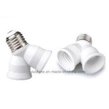Adaptador de lámpara E27 a 2 X E27 con aprobación CE
