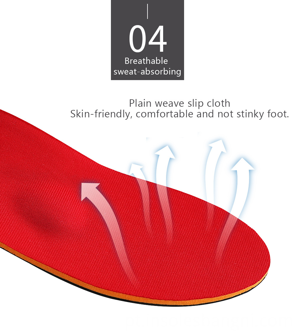 Flat feet insoles