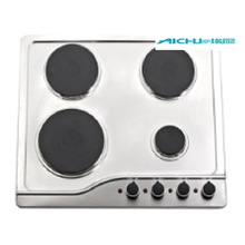 4 Burners Stainless Steel Electric Gas Stove