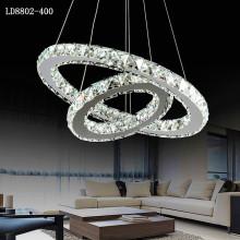 led modern chandeliers multi crystal pendant light