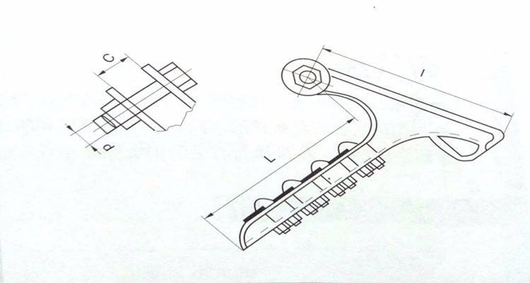 NLL Strain Clamp Design