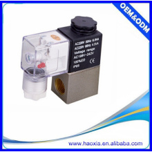 HAOXIA 2V025-06 Alloy solenoid valve in China for air gas