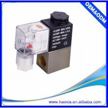 HAOXIA 2V025-08 válvula de água mini solenóide de ação direta AC220V