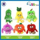 Peach fruit plush toy vegetables and fruite plush toy