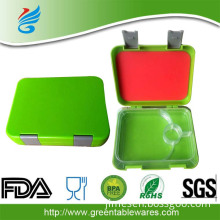 Easy Lock Custom Printing Plastic Bento Lunch Box with Latches