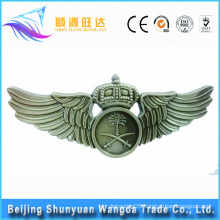 Badge Makers Supply Gold, Silver Printed Custom Name Badge and Wing Badge