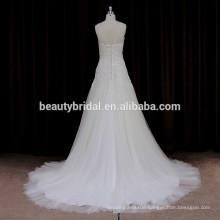 DH007 High quality wholesale price wedding dress 2016 tulle wedding gowns