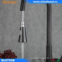 Chine Orbe de robinet de cuisine tirer sur le robinet noir