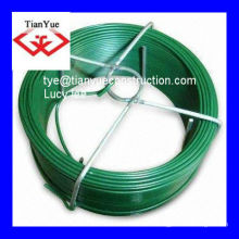 green PVC coated wire (professional factory)