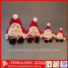 top quality custom festival promotion red christmas santa