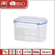 High quality airtight plastic food storage container