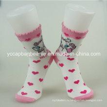 Высокое качество европейских женщин платье носки