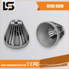 Luminária de alumínio OEM lâmpada de fundição