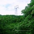 Torre de transmisión de energía de acero de ángulo único de 220 Kv