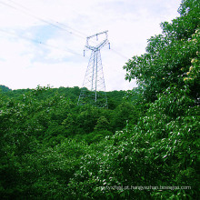 220 Kv Coruja Tipo Ângulo Transmissão de Energia Torre de Ferro