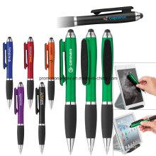 Bunte Stylus Twist Pen mit Bildschirmreiniger für die Förderung