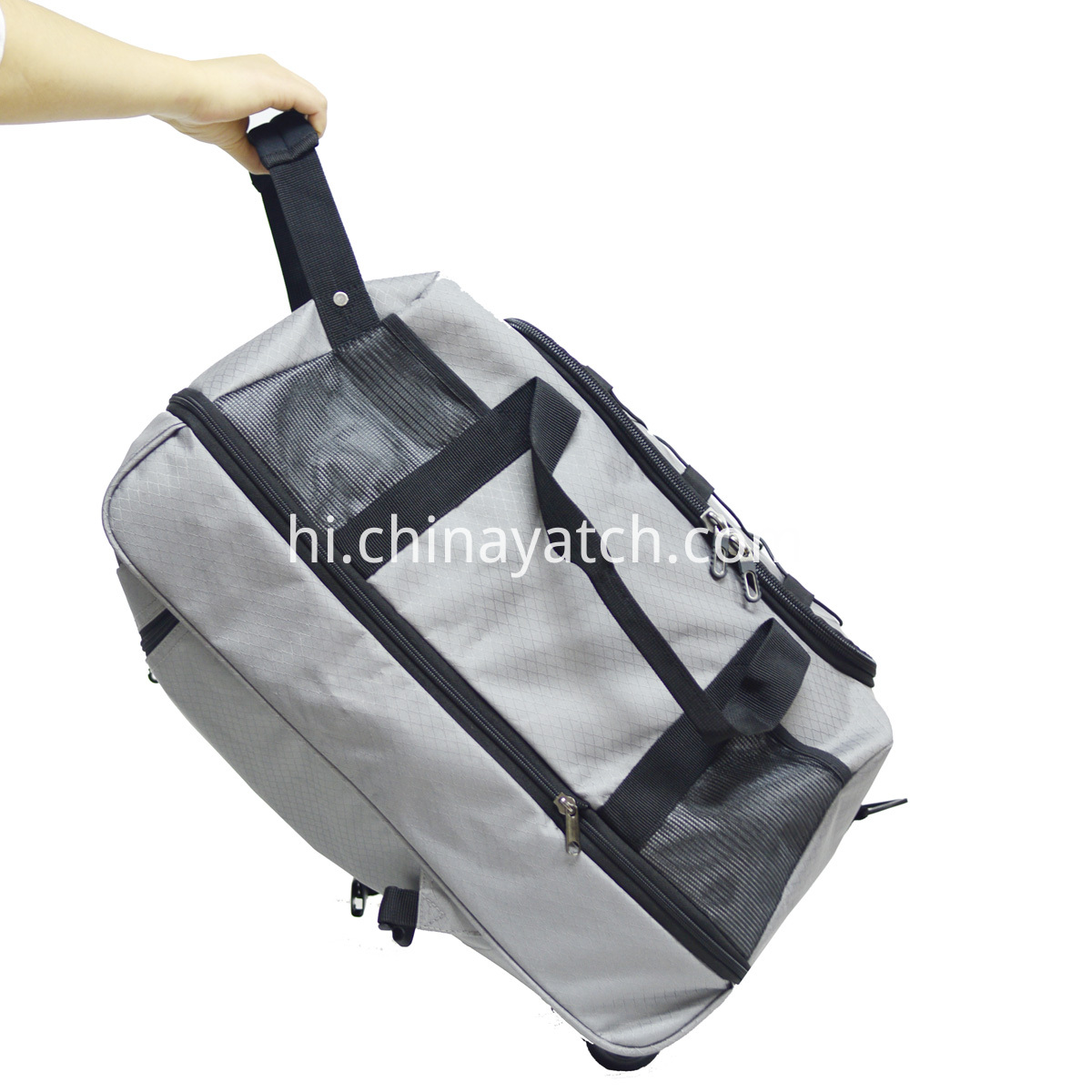 Foldable Rolling Duffle Bag with Backpack