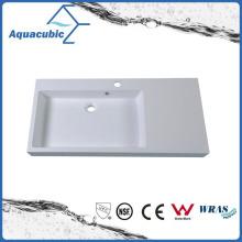 Rectangular Single Bowl Bathroom Wash Basin Sink Acb0912