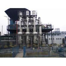 tratamiento de agua del evaporador
