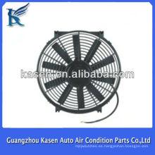 Ventilador de condensador 12V / 24V Ventilador de refrigeración / ventilador de condensador de 80W de 14 pulgadas para Universal