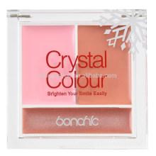 venta al por mayor rosado rojo natural crema duradera paleta de polvo rubor