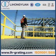 Оцинкованный стальной решетки для промышленности этаж