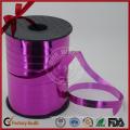 Cinta rizada colorida para la decoración de la boda