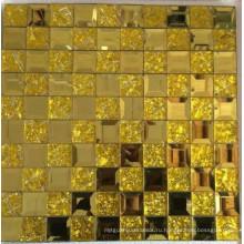 Золотая мозаика Мозаика из зеркального зеркала (HD069)